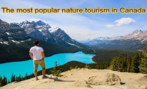 The most popular nature tourism in Canada